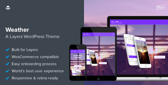 Weather-Layers-Application-One-Page-Theme