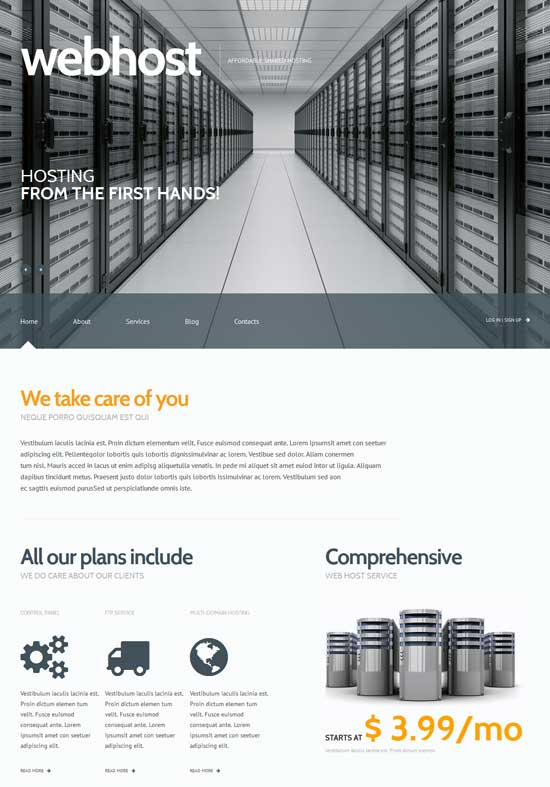 Web-Hosting-Responsive-WordPress-Theme