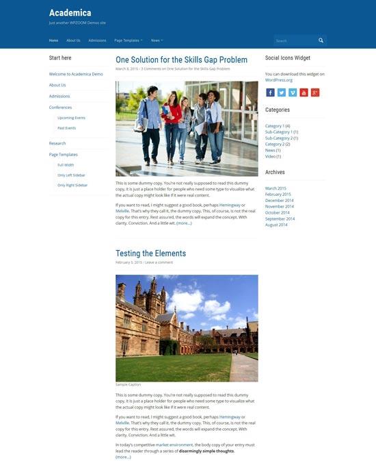 Academica-Free-WordPress-Education-Theme-2015
