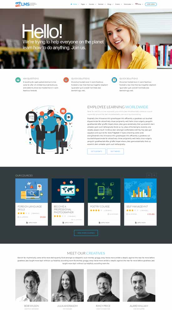 EduLMS-WP-Learning-Management-System-Theme