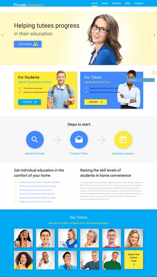 Education-Help-WordPress-Theme