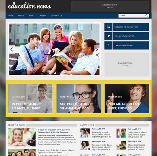 Education-Responsive-WordPress-Theme