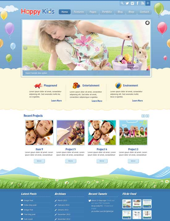 Happy-Kids-Education-Children-WordPress-Theme