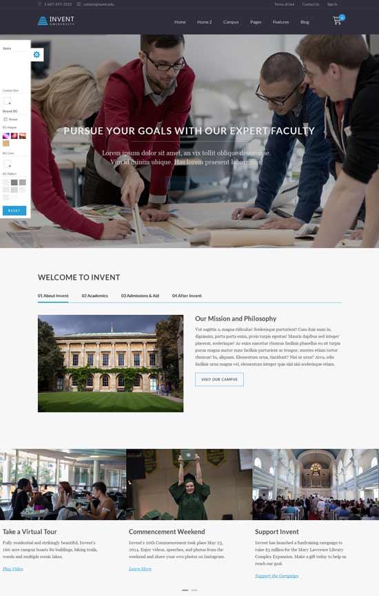 Invent-Education-Course-College-WordPress-Theme
