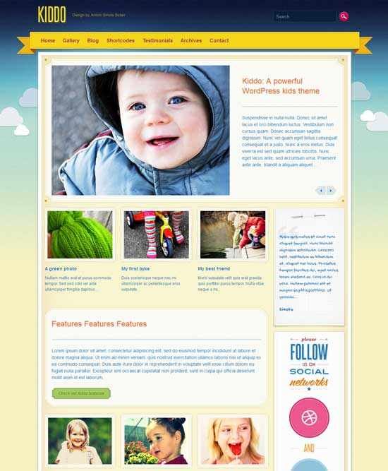 Kiddo-Powerful-Education-Kids-Theme
