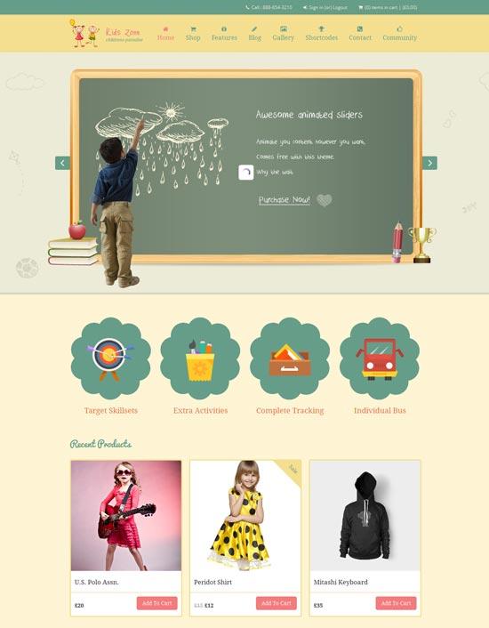 Kids-Zone-Responsive-education-Children-Theme