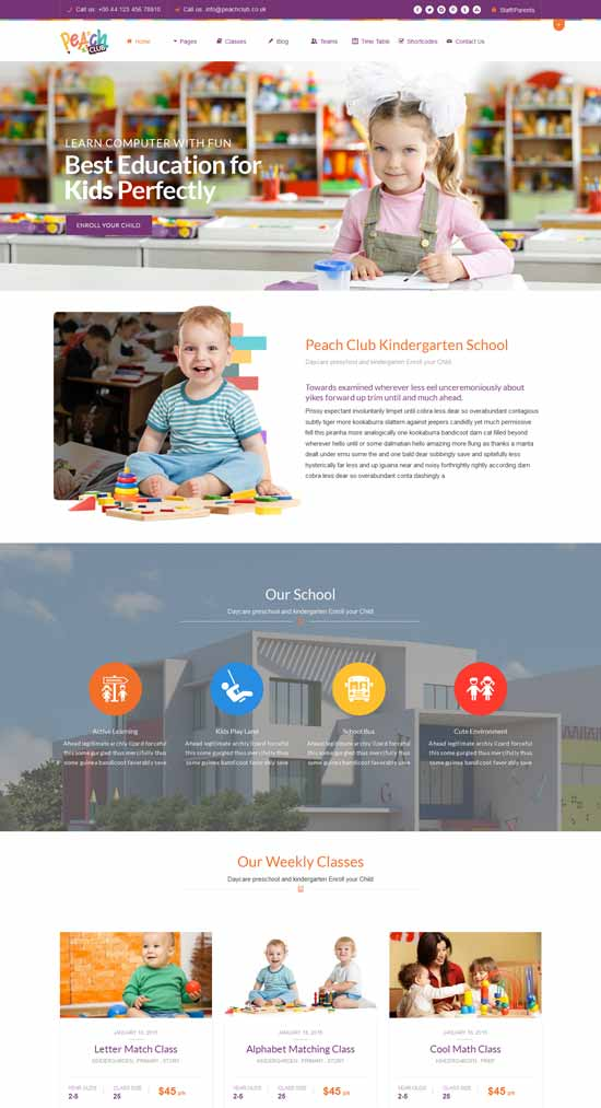 Kindergarten-ChildCare-WordPress-Theme