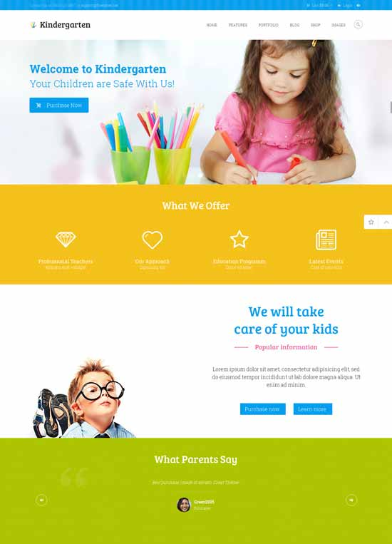 Kindergarten-Children-WordPress-Theme