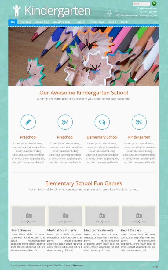 Kindergarten-Free-Education-WordPress-theme