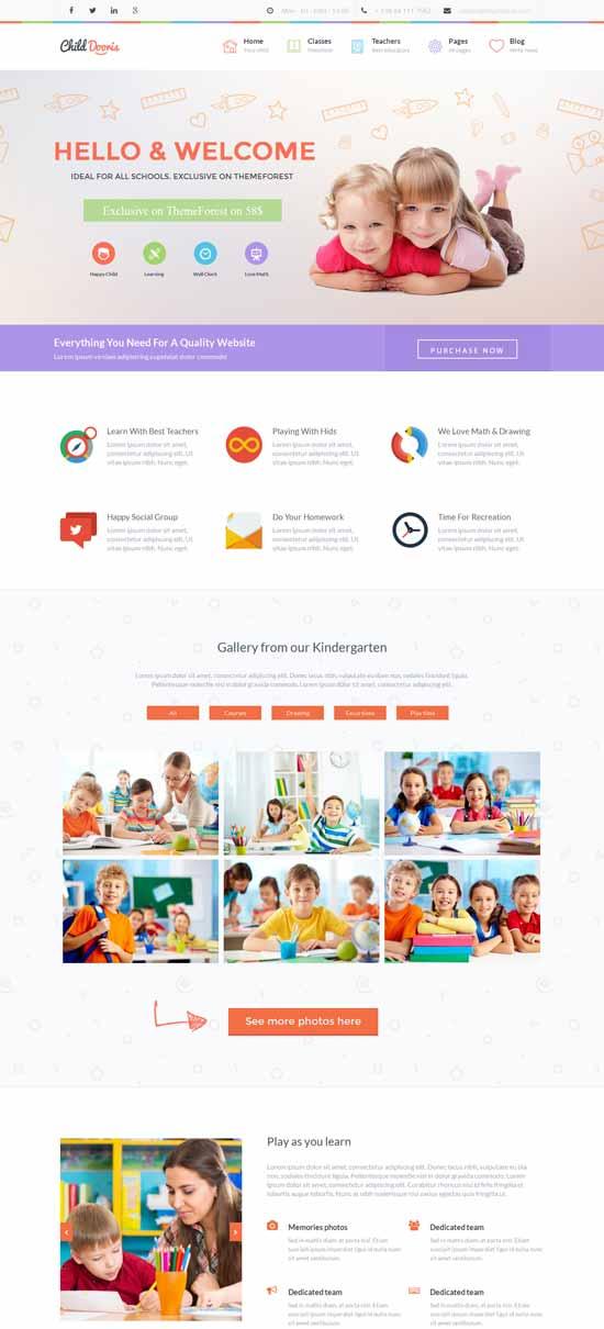 Kindergarten-School-Wordpress-Theme