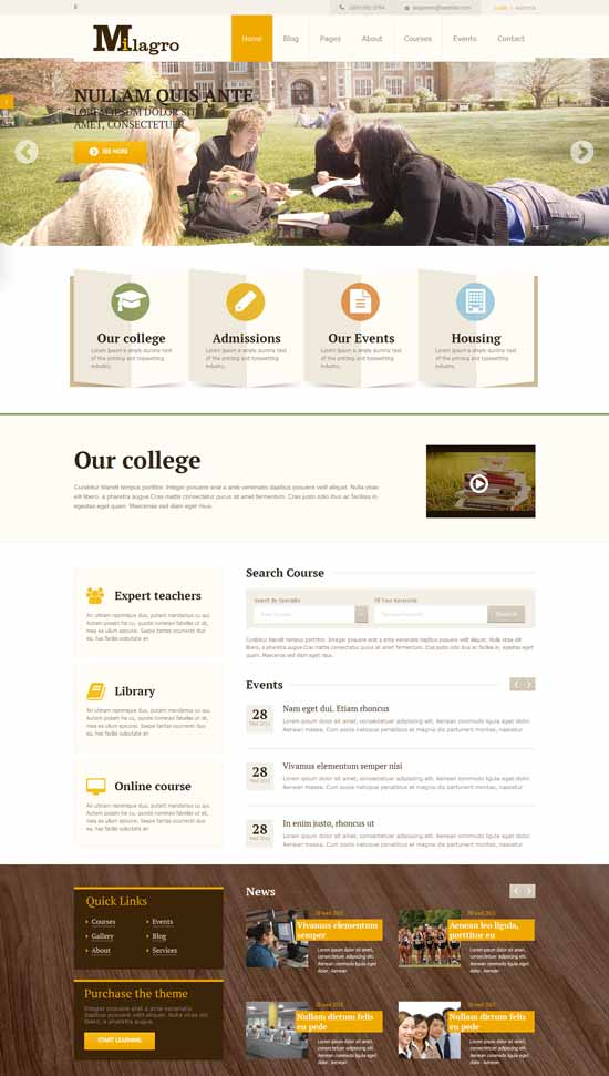 Learning-Courses-WordPress-Theme