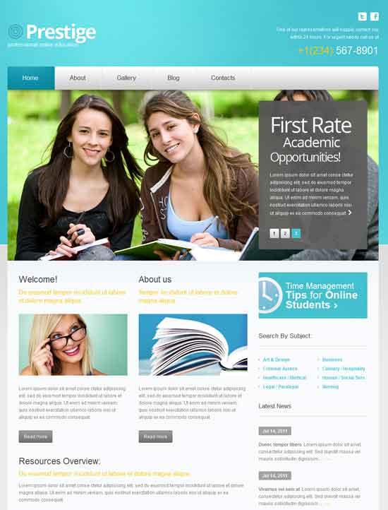 Online-Education-theme