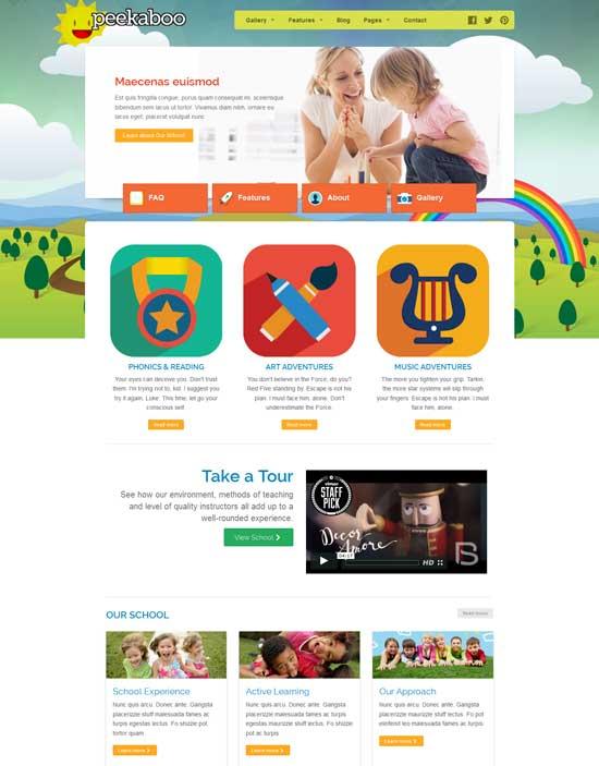 Pekaboo-WordPress-Education-Children-Theme