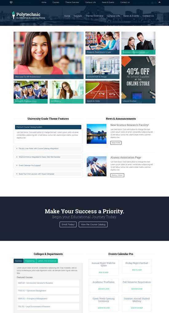 Powerful-Education-Courses-Events-theme
