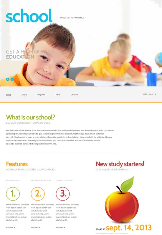 Primary-School-Responsive-WordPress-Theme