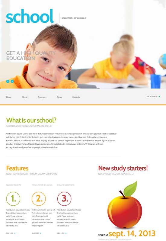 Primary-School-Responsive-WordPress-Theme