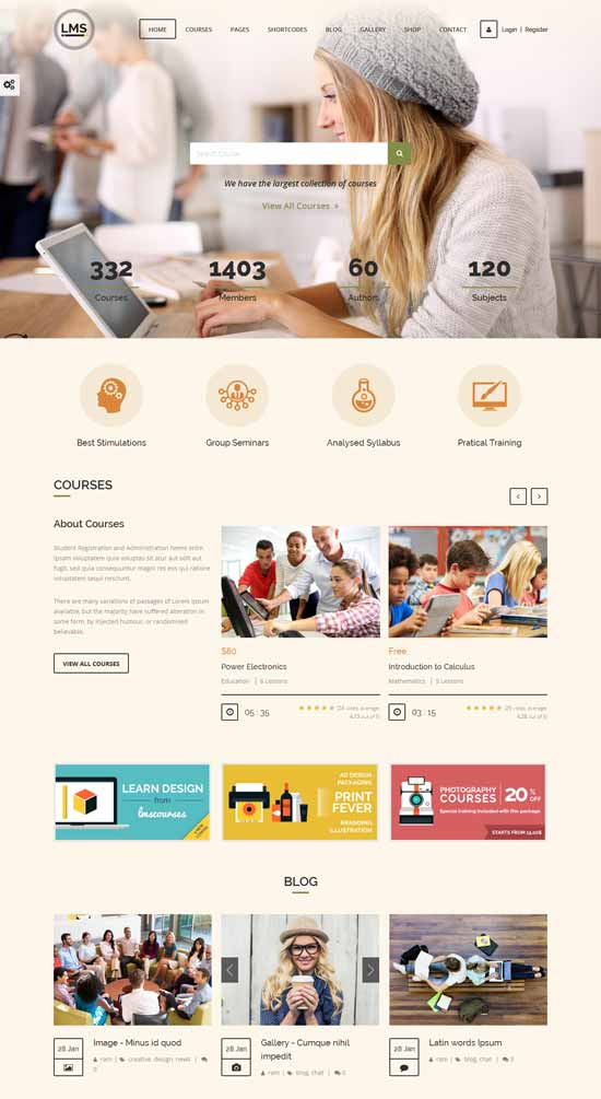 Responsive-Learning-Management-System