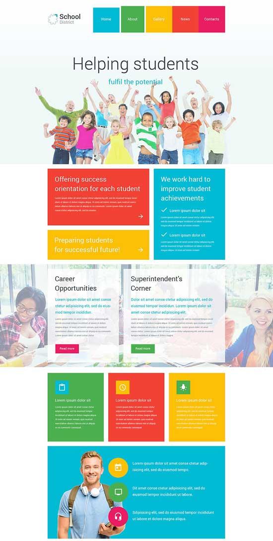 School-District-WordPress-Theme