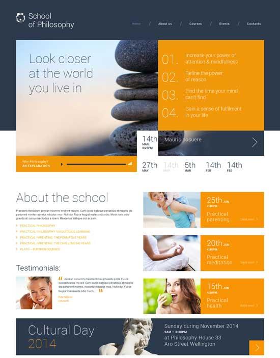 School-of-Philosophy-WordPress-Theme