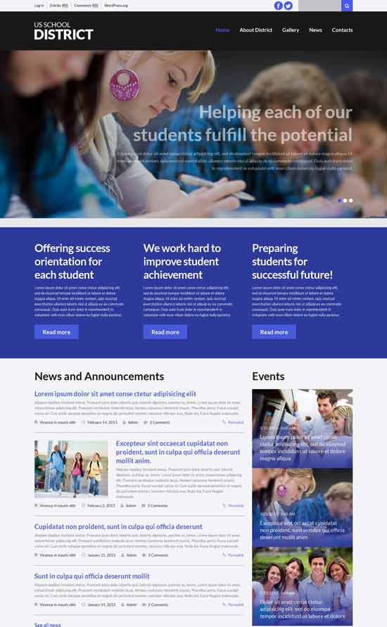 Schooling-WordPress-Theme