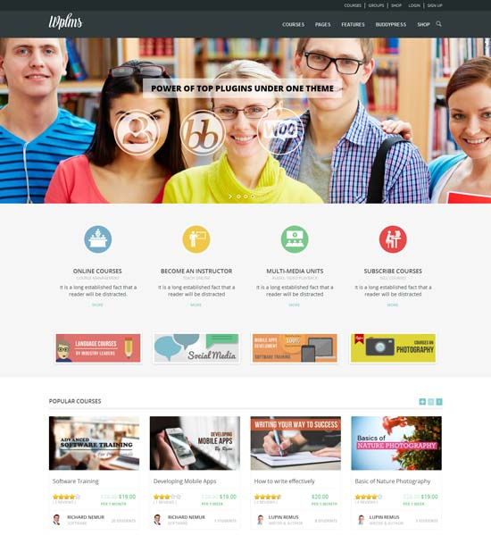 70+ BEST EDUCATION WORDPRESS THEMES FREE & PREMIUM