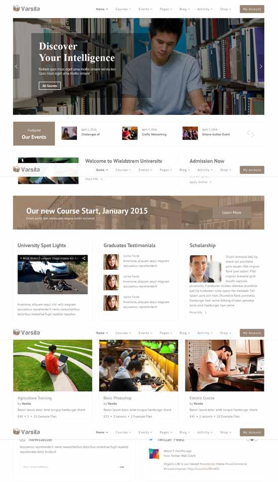 WordPress-Learning-Management-System