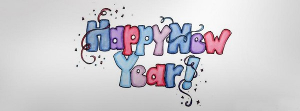 Most Beautiful Happy New Year Facebook Covers
