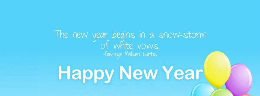 most beautiful happy new year facebook covers 2