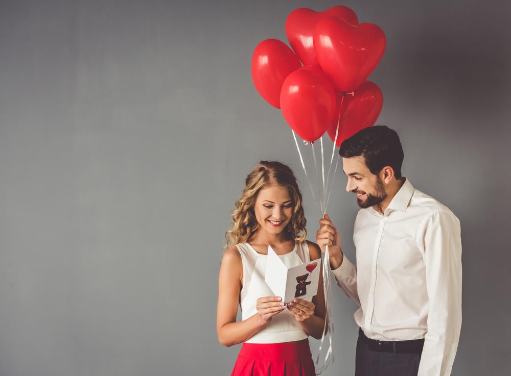 beautiful couple valentine day