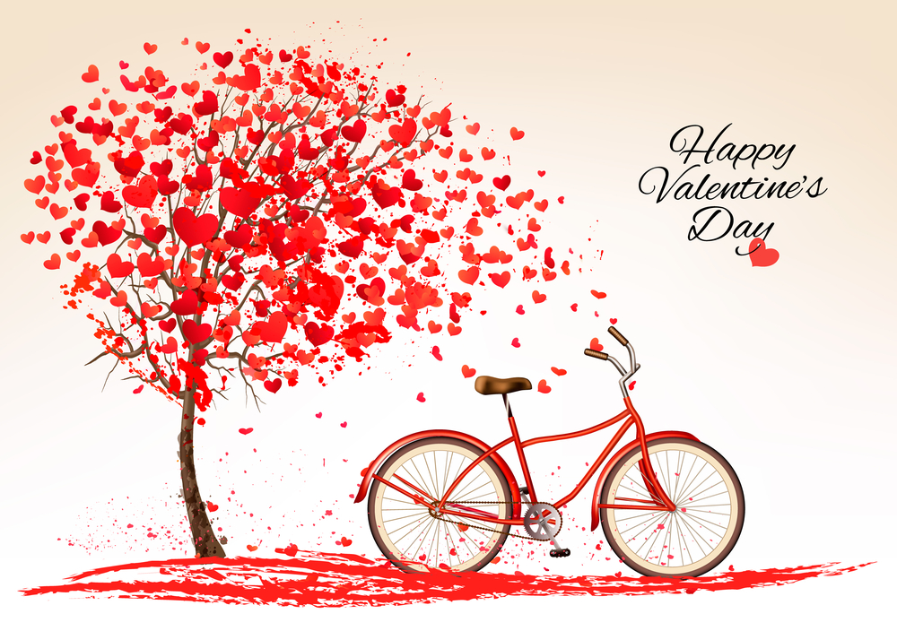cycle happy valentine day cover pic