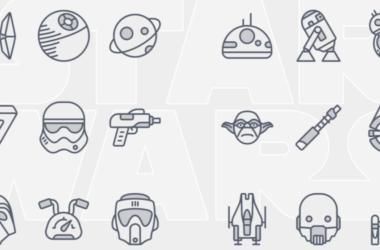 Star Wars icons Set Free Download