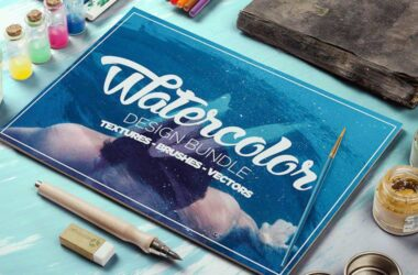 Free Watercolor Brush Sets for Adobe Photoshop
